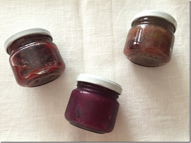 fall fruit jam