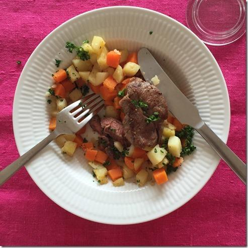 grilled lamb shoulder chops