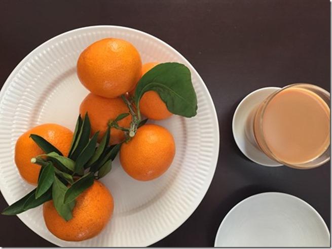 shima mikan breakfast