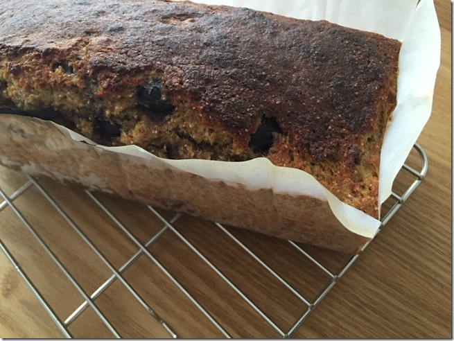 whole grain blueberry banana bread (6)