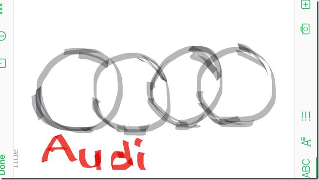 doodle audi