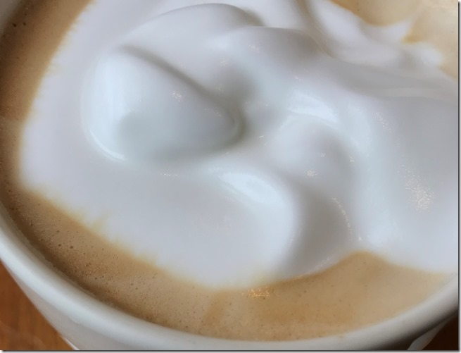 starbucks mousse foam latte