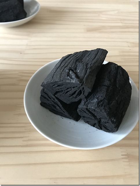 black charcoal in a box (1)