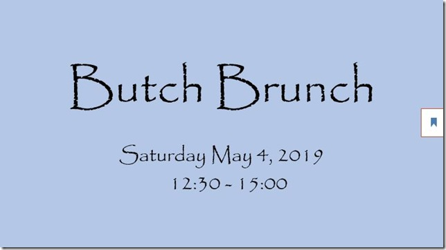 butch brunch