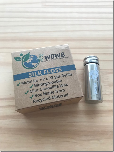 metal case silk floss