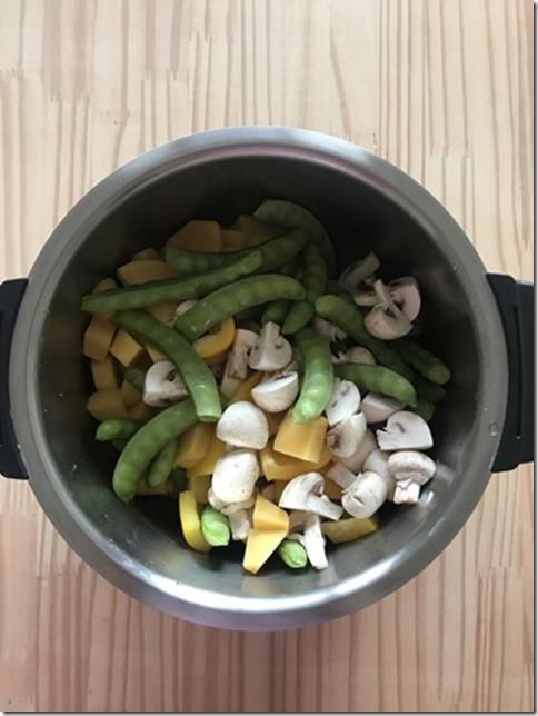 spring veggie hash hotcook recipe (5)