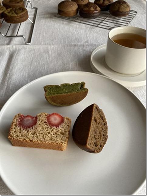 hojicha caramel mochi muffins (11)