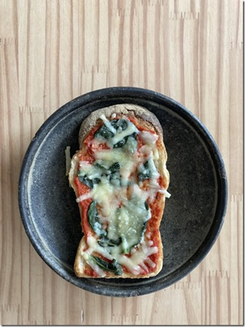 low fat pizza toast (1)
