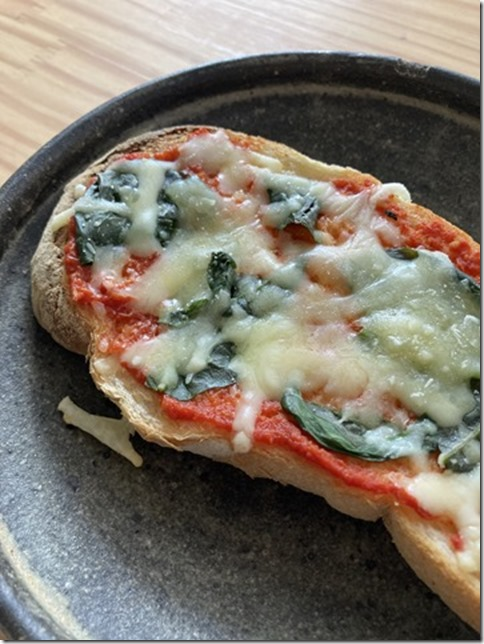 low fat pizza toast (2)